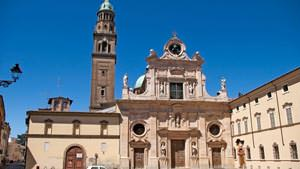 Abbey of St. John the Evangelist. Parma attraction
