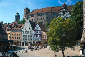 Albrecht Durer House. attraction Nuremberg