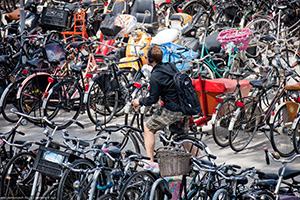 Amsterdam - the capital of the bicycle