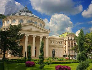 Athenaeum in Bucharest - European point of interest