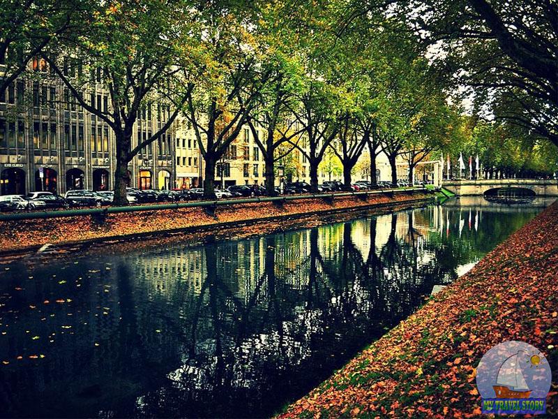 Autumn in Dusseldorf