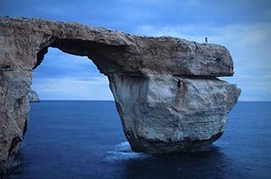 Azure Window, Malta,
