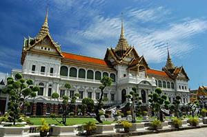 Bangkok. Sight Royal palace