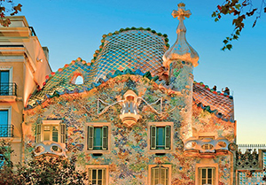 Barcelona tourist attraction