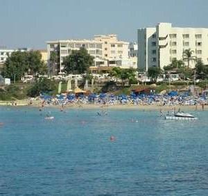 Beaches. The resort of Protaras
