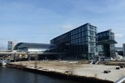 Berlin main station celebrates anniversary