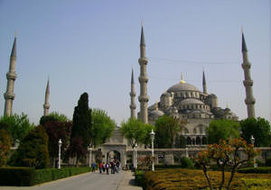 Blue Mosque. Istanbul attraction