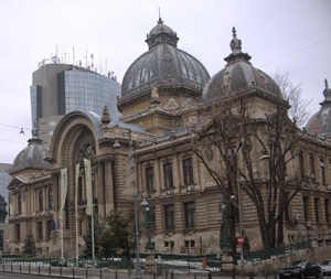 CEC Palace - the pride of Bucharest