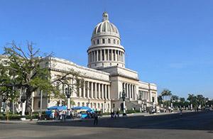 Capitol in Havana, Cuba