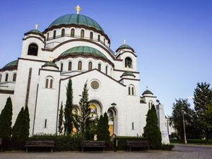 Cathedral of Saint Sava. Belgrade attraction