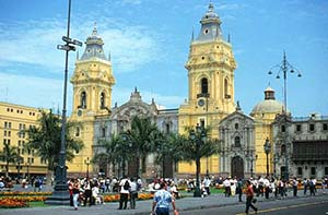 Cathedral of San Francisco in Lima, Peru