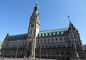 Central Hall of Hamburg, Germany