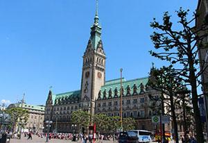 Central Hall of Hamburg