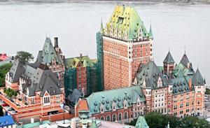 Château Frontenac. Quebec