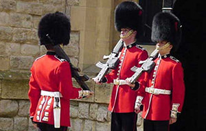 Changing of the guard – sight of London
