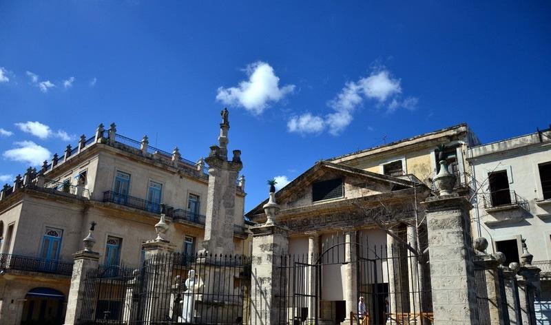 Chapel of El Templete in the Plaza de Armas