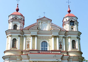 Church of Saints Peter and Paul, Vilnius, Lithuania