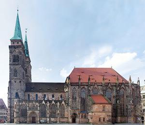 Church of St. Sebald. attraction Nuremberg