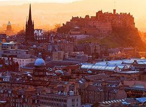 Decline over Scotland