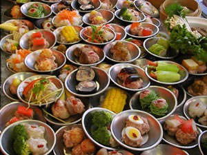Dishes of Chinese
