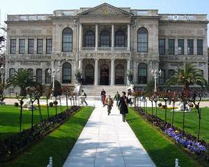 Dolmabahce Palace. Istanbul attraction