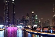 Dubai offers boat trips on the new channel