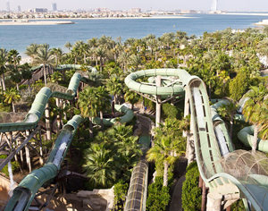 Dubai. Attraction Wild Wadi Water Park