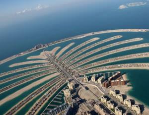 Dubai. Landmark Palm Island