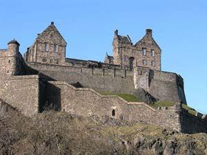 Edinburgh Castle - Edinburgh symbol