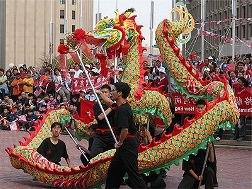 Festival of a dragon China