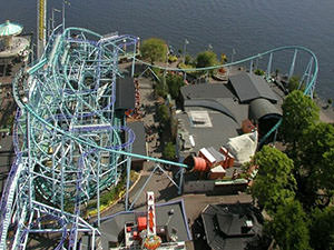 Grona Lund - the best amusement park of Stockholm