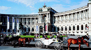 Hofburg. Sight of Vienna
