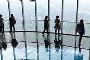 In the highest building in China was opened an observation deck