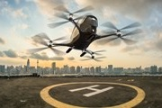 In the summer in Dubai will flying unmanned taxis