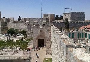 Jaffa Gate, Israel