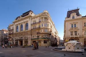 Knez Mihailova Street. Belgrade attraction