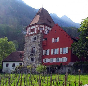 Liechtenstein. Sight Bidermann House