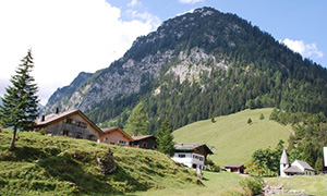Liechtenstein. Trip to mountains