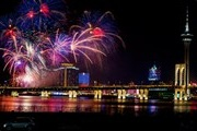 Macau - the world most beautiful fireworks