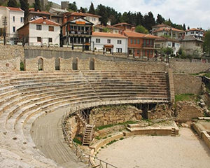 Macedonia. Classical Amphitheater