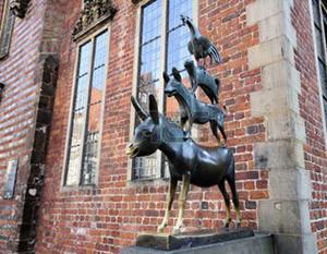 Monument to the Bremen musicians