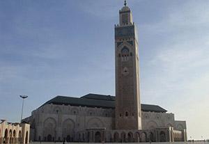 Mosque Hassan II, Morocco