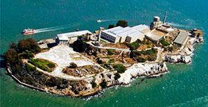 Museum Alcatraz prison, San Francisco, USA