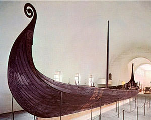Museum of vessels of Vikings. Oslo