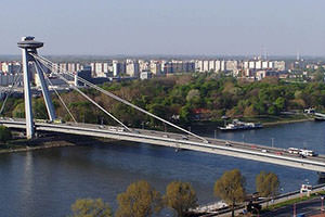 New Bridge – a futuristic look of Bratislava