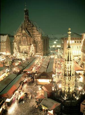 Nuremberg Christmas market. attraction Nuremberg