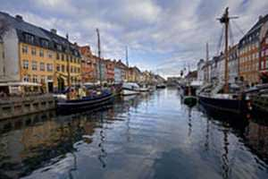 Nyhavn channel. Copenhagen
