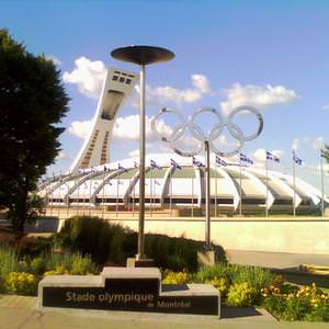 Olympic stadium. Montreal