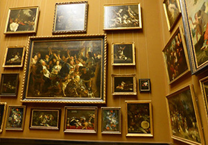 One of the rooms with paintings, Museum of Art History