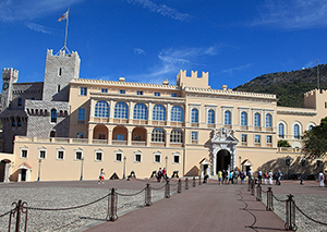 Palace of the prince. Monaco